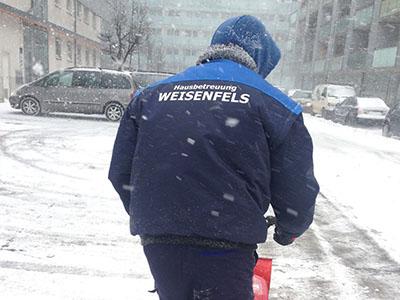 Weisenfels Schneeräumung